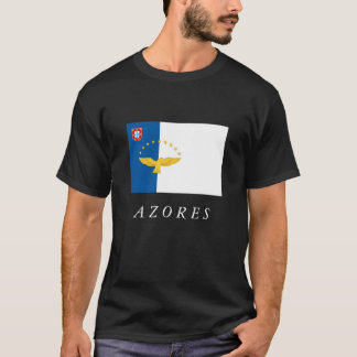 Azores Islands Portugal Flag T-shirt