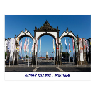 Azores Islands Postcard