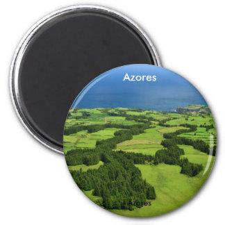 Azores landscape magnet