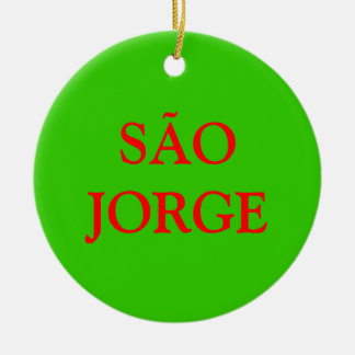 Azores- SÃO JORGE Christmas Ornament