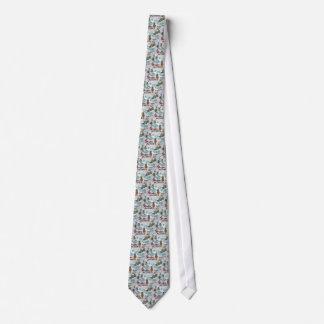 Azores souvenir tie