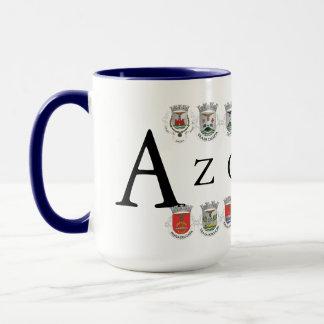 Azores Towns Coat Arms Mug