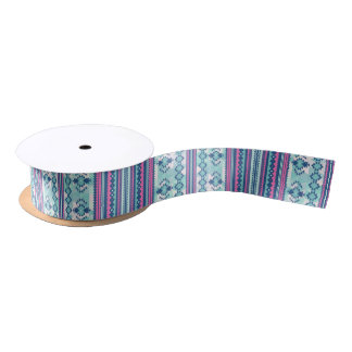 Aztec #1 Ribbon Satin Ribbon
