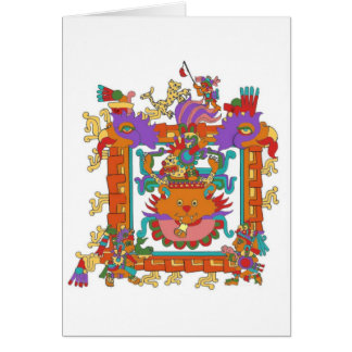 Aztec Alley Cat Card