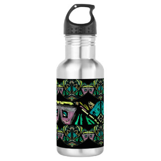 Aztec Art  Water Bottle