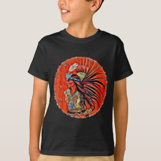 Aztec Bird Dancer Kids Dark T-shirt