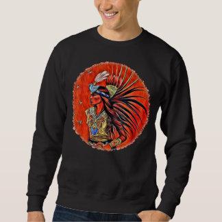 Aztec Bird Dancer Native American Sweatshirt