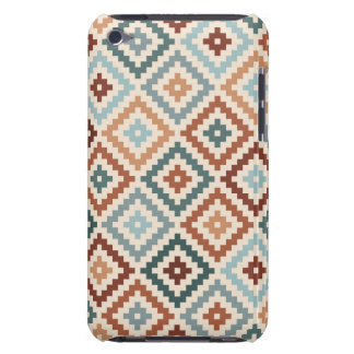 Aztec Block Symbol Ptn Teals Crm Terracottas Barely There iPod Cover