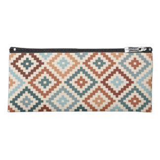 Aztec Block Symbol Ptn Teals Crm Terracottas Pencil Case