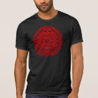 Aztec Calendar - red T-Shirt