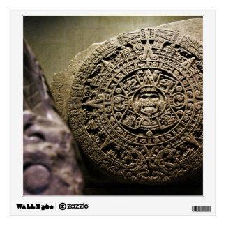 Aztec Calendar Wall Decal