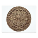 Aztec Calender Custom Invitation