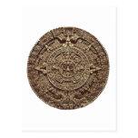 Aztec Calender Postcard