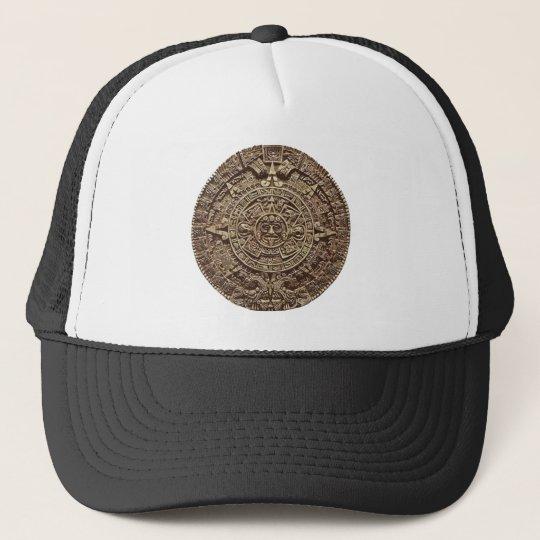 Aztec Calender Trucker Hat
