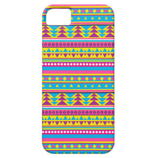 Aztec Candy Pink Yellow Blue Purple tribal iPhone 5 Case