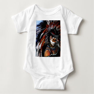 Aztec celebration baby bodysuit