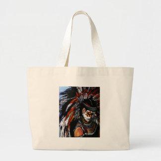 Aztec celebration large tote bag