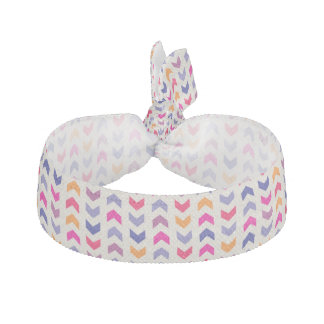 Aztec Chevron colorful pattern Hair Tie