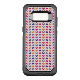 Aztec Chevron colorful pattern OtterBox Commuter Samsung Galaxy S8 Case