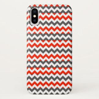 Aztec Chevron Zigzag Stripe Pattern iPhone X Case