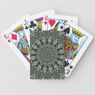 Aztec Circle Bicycle Playing Cards