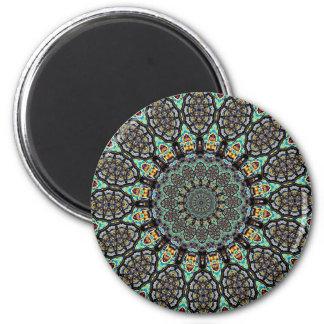 Aztec Circle Magnet