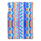 Aztec Colourful Blue Orange And White Pattern Case For The iPad Mini