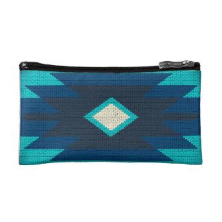 Aztec cool geometric design cosmetic bags