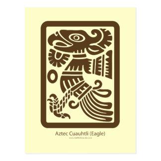 Aztec Cuauhtli - Eagle (Brown) Postcard