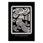 Aztec Cuauhtli - Eagle (Putty) Print