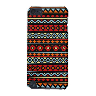 Aztec Essence II Ptn Red Blue Orange Yellow Blk iPod Touch (5th Generation) Cases