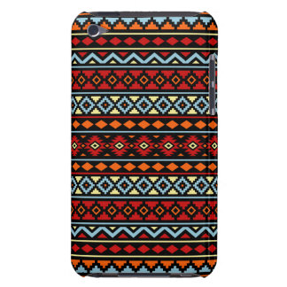 Aztec Essence II Ptn Red Blue Orange Yellow Blk iPod Touch Cover