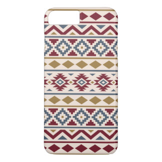 Aztec Essence III Ptn Red Blue Gold Cream Case-Mate iPhone Case