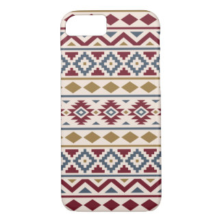 Aztec Essence III Ptn Red Blue Gold Cream iPhone 8/7 Case