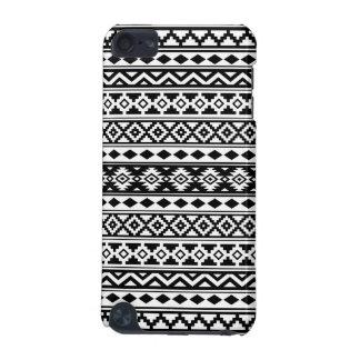 Aztec Essence Pattern IIb Black & White iPod Touch 5G Covers