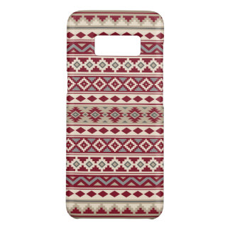 Aztec Essence Pattern IIb Red Grays Cream Sand Case-Mate Samsung Galaxy S8 Case