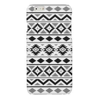 Aztec Essence Pattern III Black White Gray