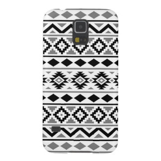 Aztec Essence Pattern III Black White Gray Cases For Galaxy S5