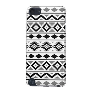 Aztec Essence Pattern III Black White Gray iPod Touch (5th Generation) Cover