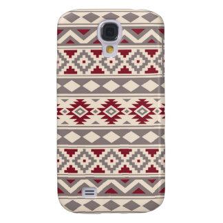 Aztec Essence Pattern IIIb Cream Taupe Red