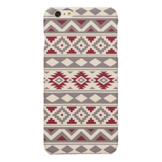 Aztec Essence Pattern IIIb Cream Taupe Red