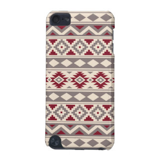 Aztec Essence Pattern IIIb Cream Taupe Red iPod Touch 5G Case
