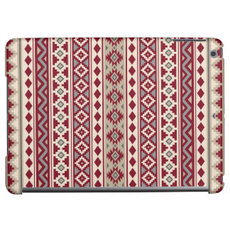 Aztec Essence Ptn IIb Red Grays Cream Sand Cover For iPad Air