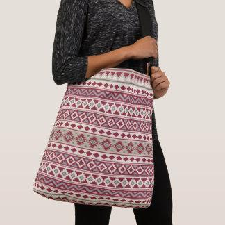 Aztec Essence Ptn IIb Red Grays Cream Sand Crossbody Bag