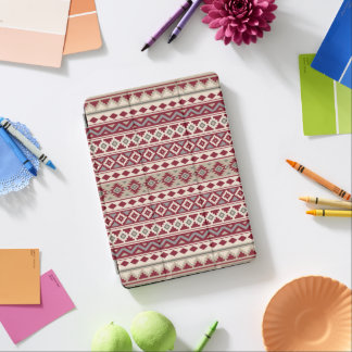 Aztec Essence Ptn IIb Red Grays Cream Sand iPad Pro Cover