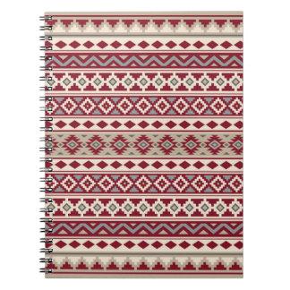 Aztec Essence Ptn IIb Red Grays Cream Sand Notebook