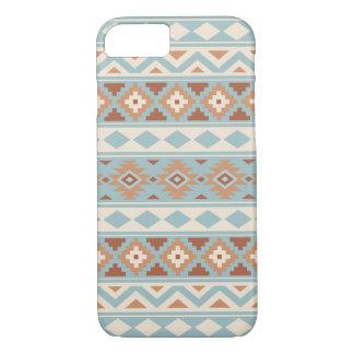 Aztec Essence Ptn IIIb Blue Cream Terracottas Case-Mate iPhone Case