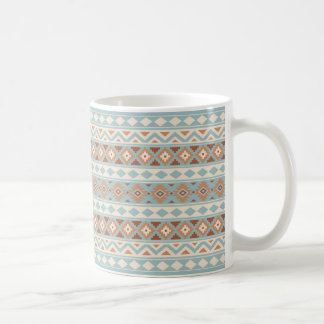 Aztec Essence Ptn IIIb Blue Cream Terracottas Coffee Mug
