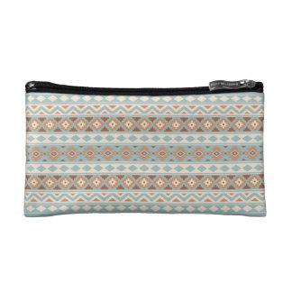 Aztec Essence Ptn IIIb Blue Cream Terracottas Cosmetic Bag