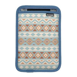 Aztec Essence Ptn IIIb Blue Cream Terracottas iPad Mini Sleeve